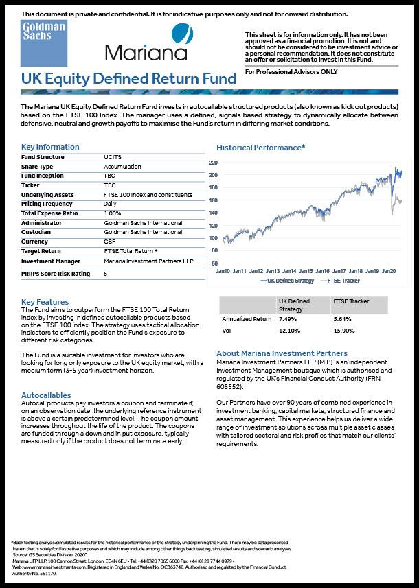 Goldman Sachs Fund